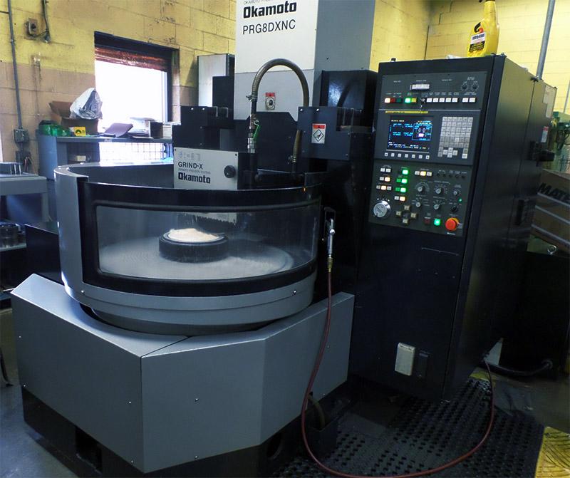 Okamoto PRG-8DXNC Rotary Precision Grinding Machine