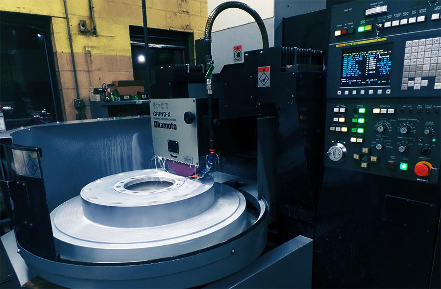 Okamoto PRG-8DXNC CNC Rotary Precision Grinding Machine